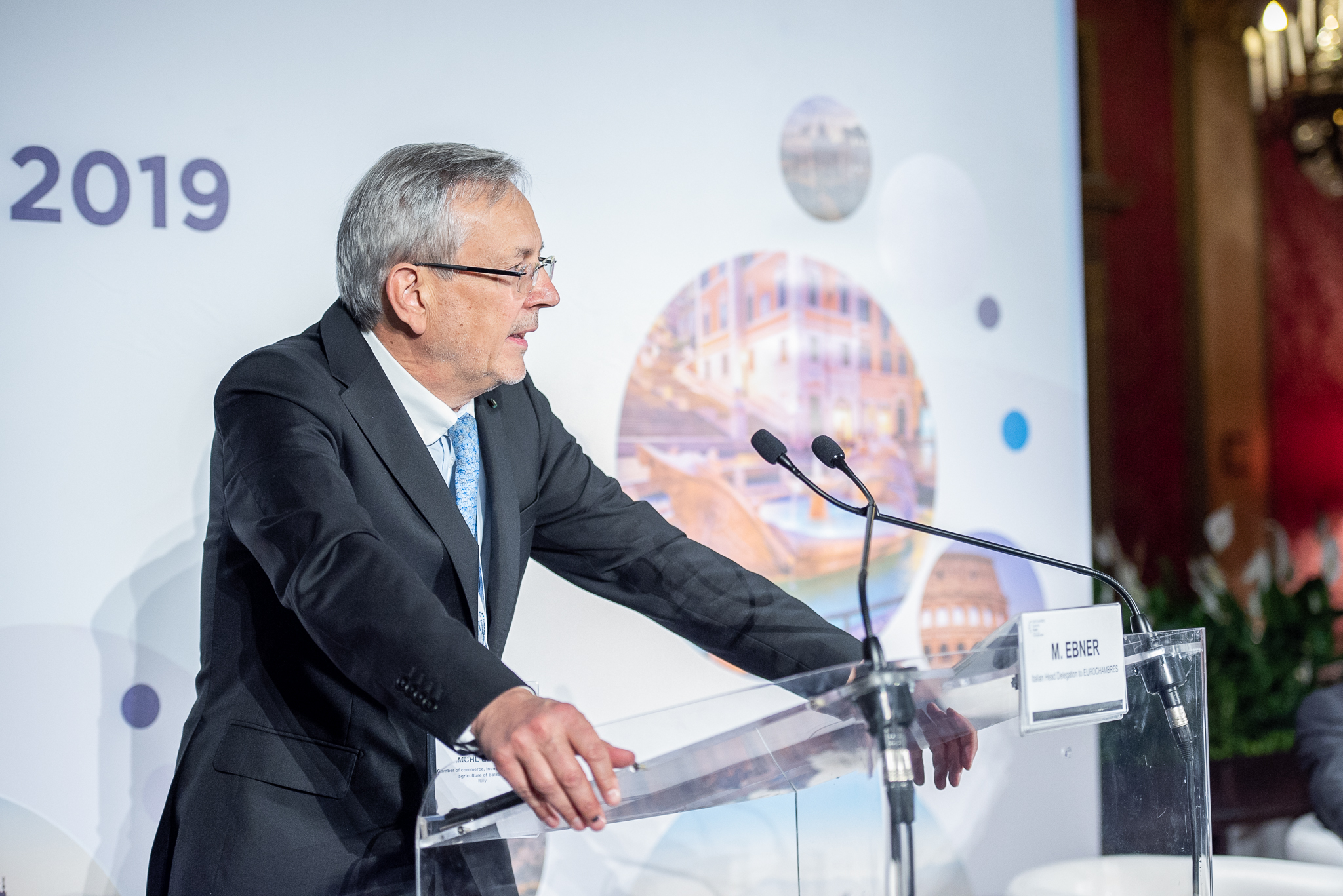 Michl Ebner als Eurochambres-Vizepräsident bestätigt