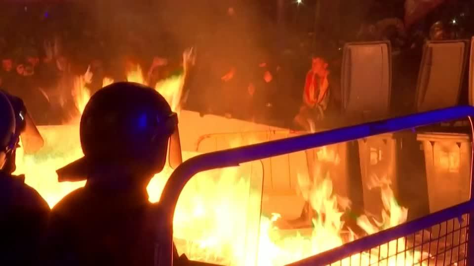 Gewalt in Barcelona reisst nicht ab