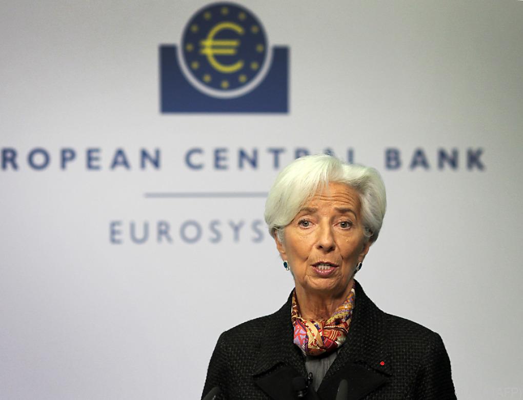 Erste EZB-Zinssitzung unter neuer Präsidentin Lagarde