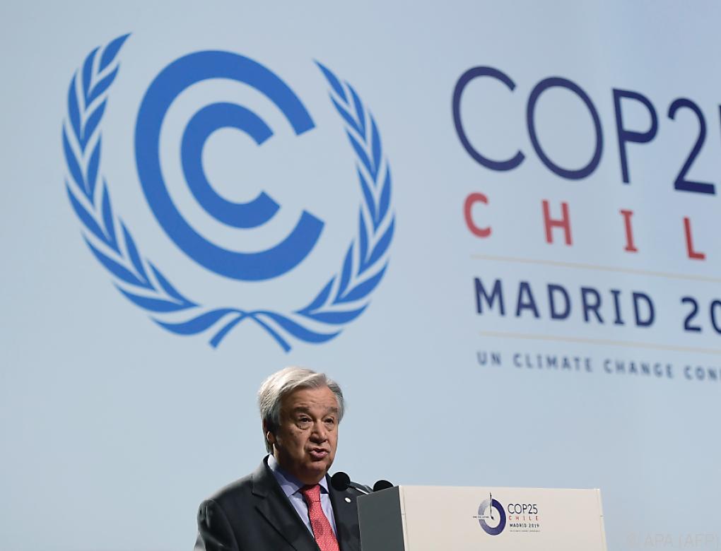 Klare Worte zum Auftakt des UN-Klimagipfels
