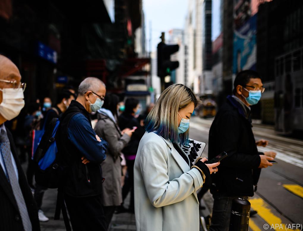 Zahl der Coronavirus-Infektionen in China stark gestiegen
