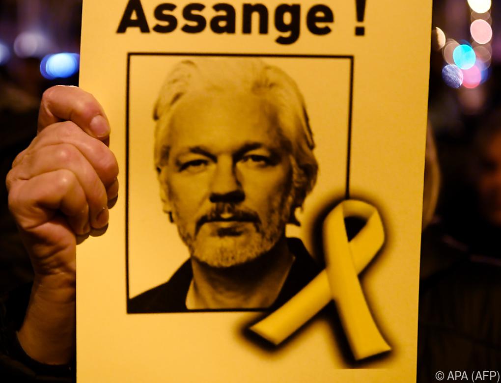 Assange-Antrag auf Freilassung auf Kaution abgelehnt