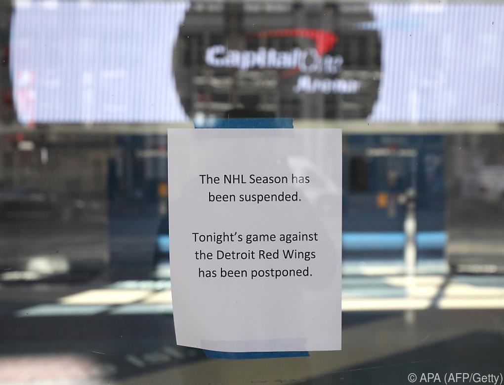 NHL verschiebt Draft auf unbestimmte Zeit