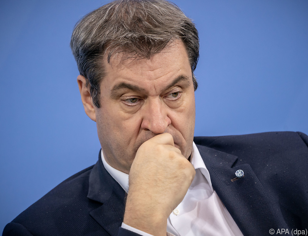 Söder will sich zu Mittag zu CDU-Votum für Laschet äußern