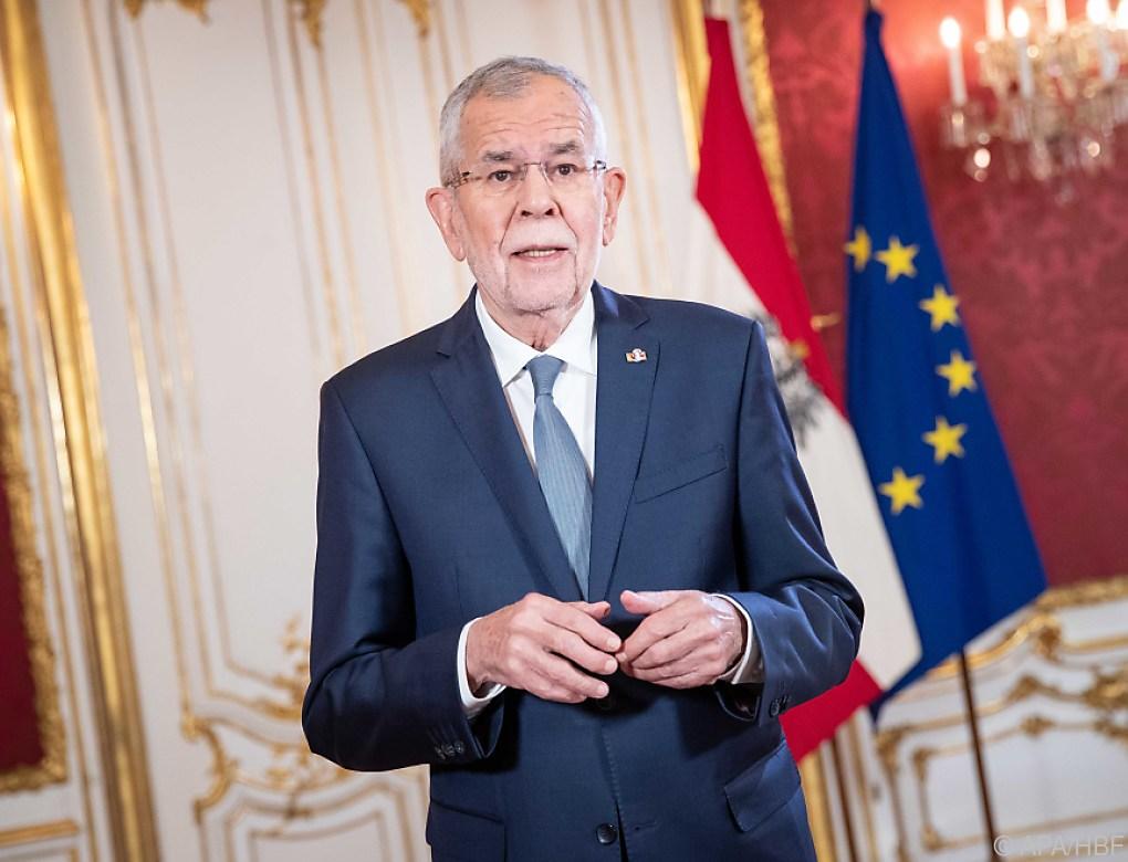 Van der Bellen kritisiert Machtfülle der Regierungen in EU