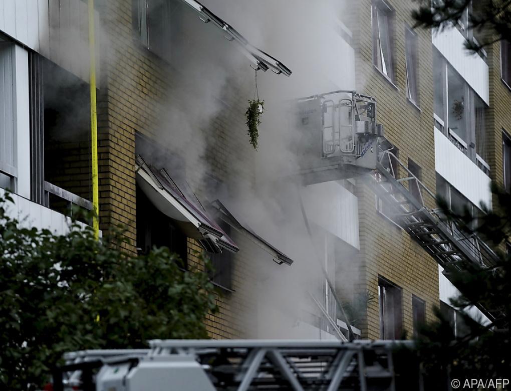 Mehrere Verletzte nach Explosion in Göteborg